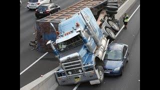 Truck Crash Compilation 2018 ||Amazing Fails Truck crash