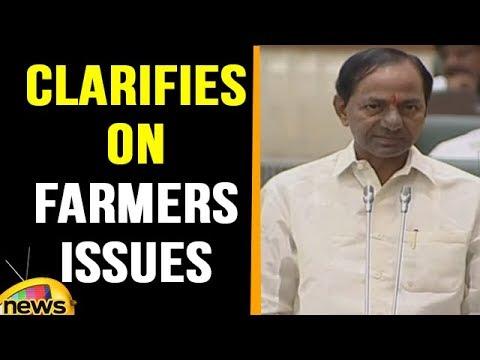 KCR Clarifies Jana reddy on Farmers Issues at TS Assembly | Mango News