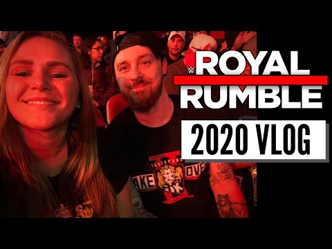 2020 ROYAL RUMBLE VLOG
