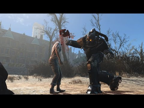 Joining the Enclave - Modded Survival Day 1 - Fallout 4 Playthrough