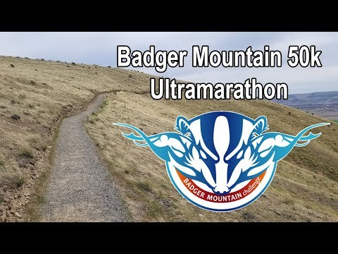 2018 Badger Mountain Challenge: 50k Ultramarathon