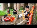 Nerf War: S.W.A.T & Task Force Nerf Guns Enemy final Battle Nerf movies