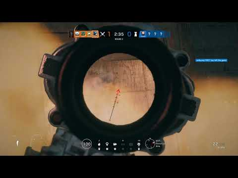 [Rainbow Six: Siege] Sound Bug