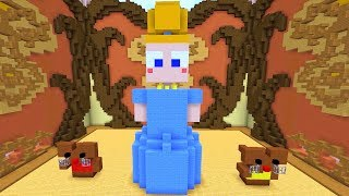 Minecraft Build Battle - CINDERELA E PORCO VOADOR