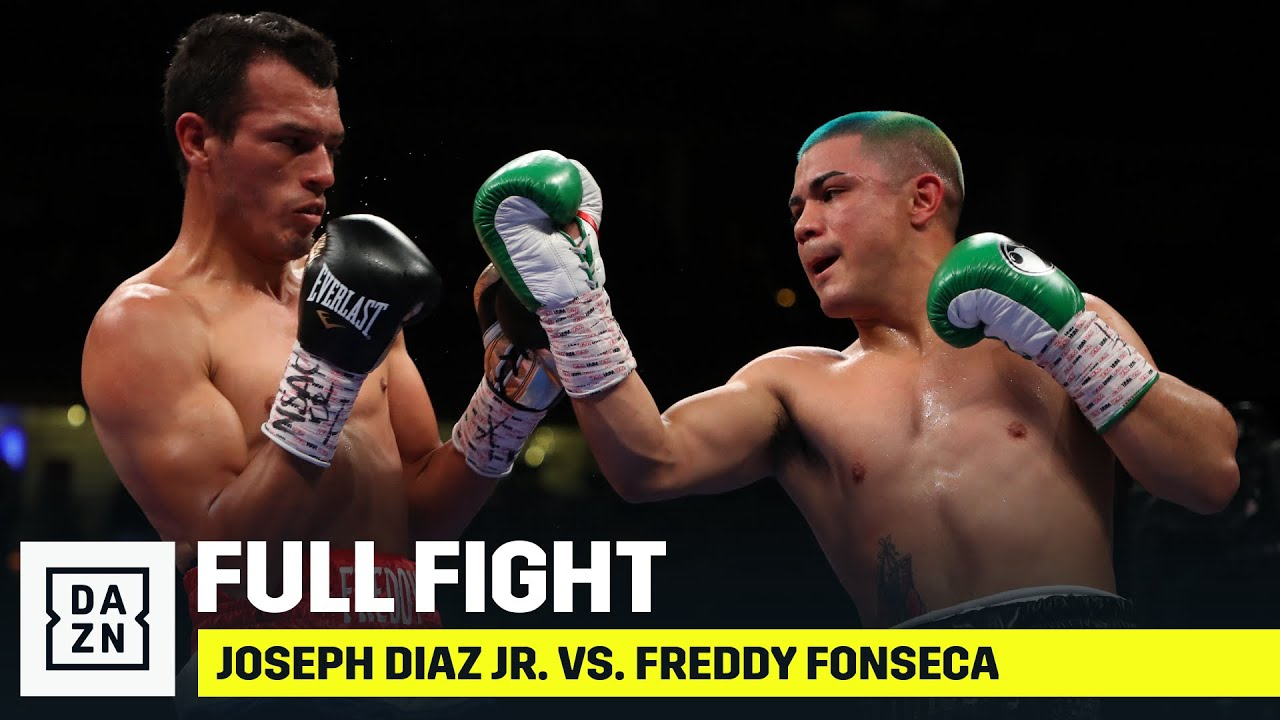FULL FIGHT | Joseph Diaz Jr. vs. Freddy Fonseca