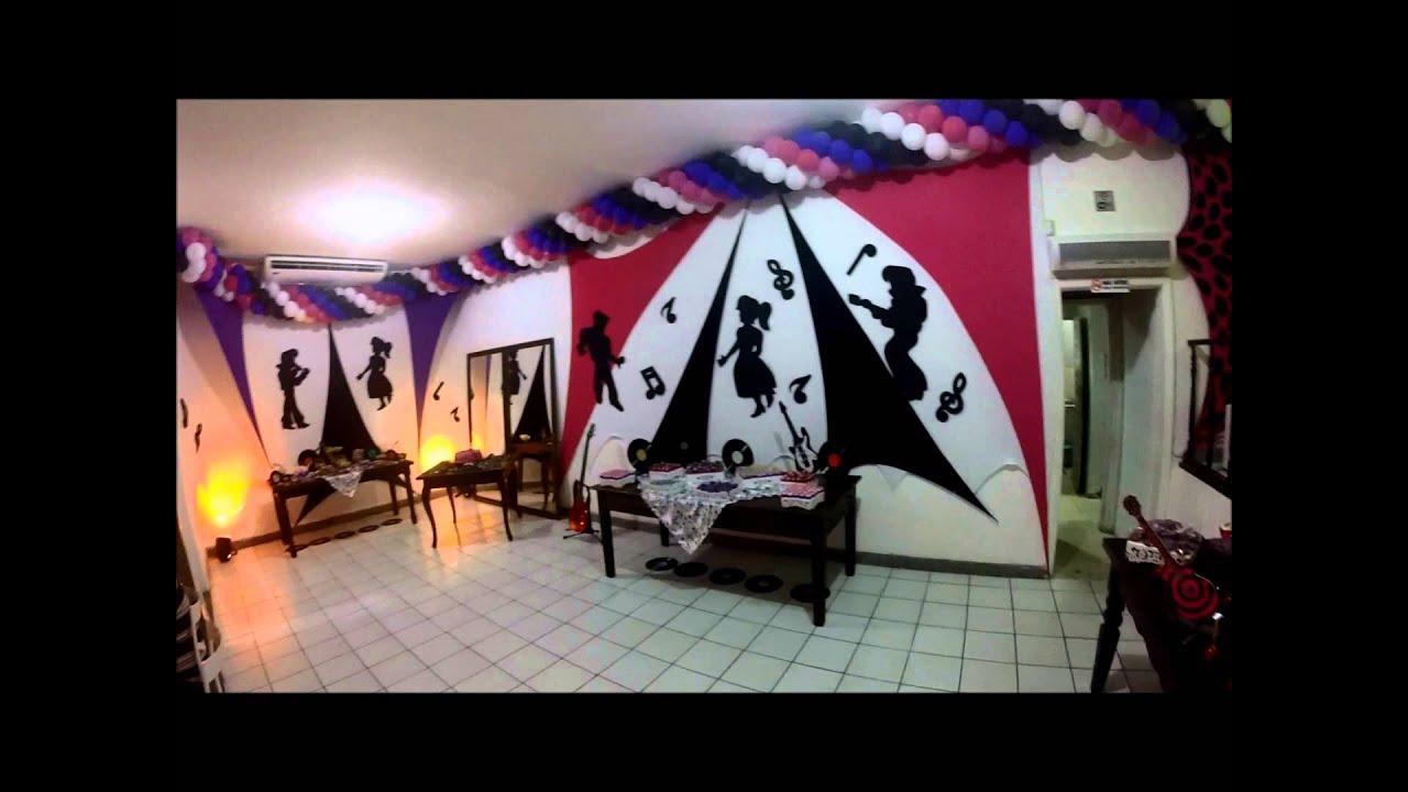 Estremamente festa teen 12 anos tema discoteca - YouTube UF79