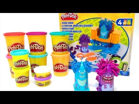 Play Doh Monsters University Toy Review  Play Dough Monsters University Hasbro Toys