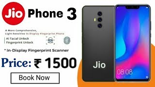 JIO PHONE 3 | How to BOOK Jio Phone 3 | 48MP 📸 Triple Camera | Price ₹1499 | 5G | Ram 6GB