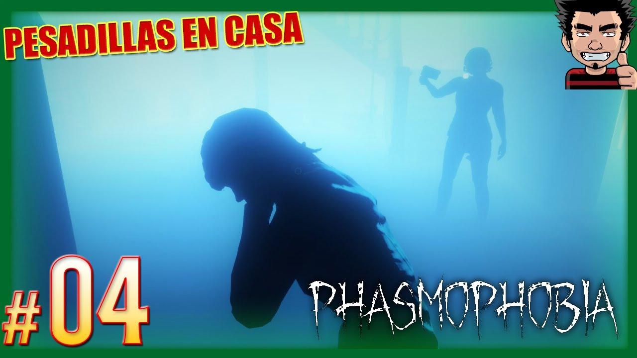 PHASMOPHOBIA ESPAÑOL CON SUBS FANTASMAS MUY AGRESIVOS GAMEPLAY ESPAÑOL