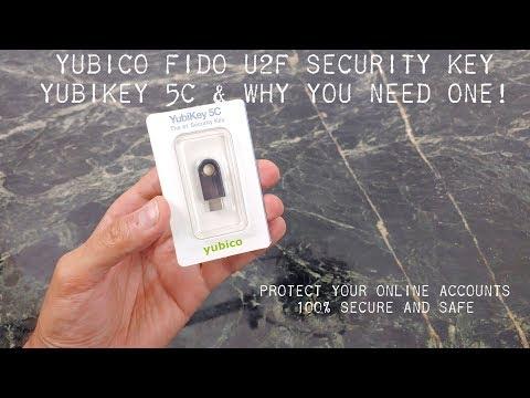 Yubico U2F FIDO Security key : Protect your online accounts