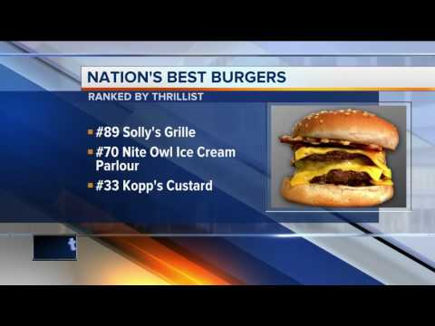 Three Milwaukee burgers rated best in America by Thrillist
