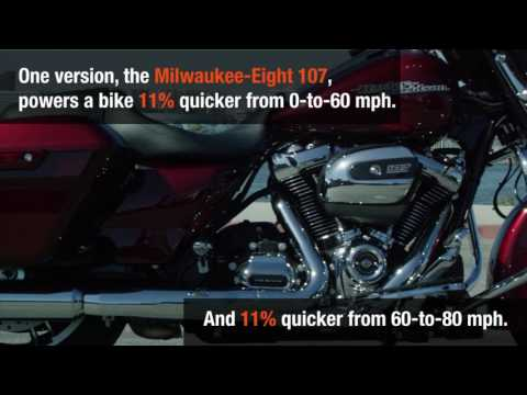 Quick facts: Harley's new Milwaukee-Eight engine