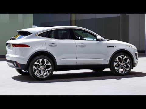 2018 Jaguar E-Pace - interior Exterior and Drive