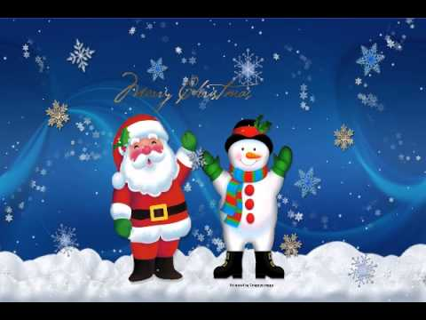 Christmas Santa Animated Gif Youtube