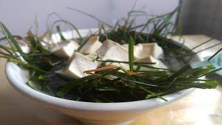 Vegan Grass Tofu Soup BBQ Pit Boys Style