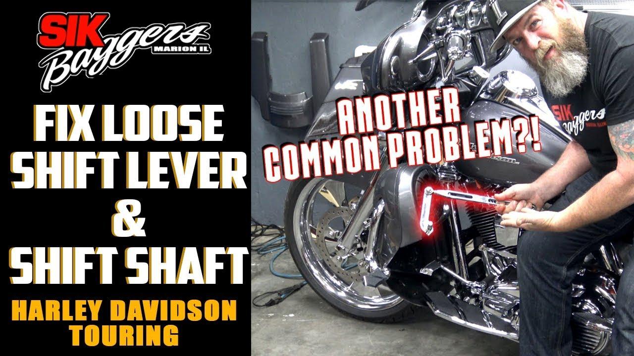 Shift Shaft/ Front Shift Lever FIX Harley Davidson Touring
