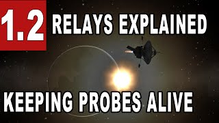 How to control probes far away in space with relays - Kerbal Space Program 1.2