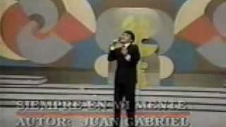 Juan Gabriel - Siempre en Mi Mente