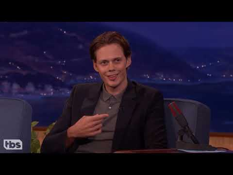 Bill Skarsgard and his smile for