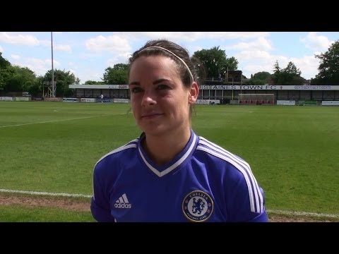 WFD  Full Time Thoughts 2014 Ft. Claire Rafferty. Chelsea & England  Ladies