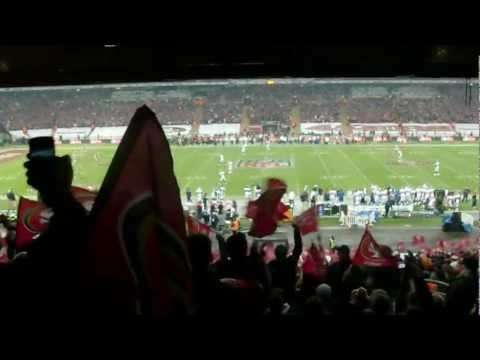 NFL London 2010 Broncos vs 49ers @ Wembley Stadium Kick Off HD