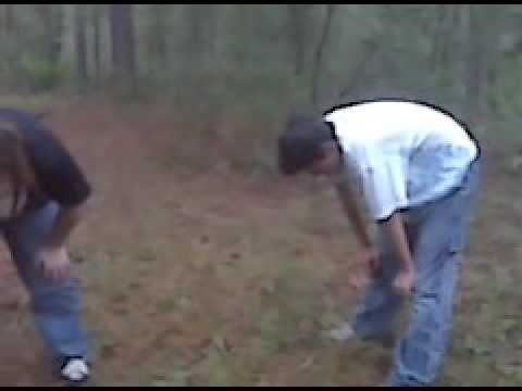 Rape in the woods