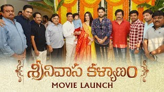 Telugutimes.net Srinivasa Kalyanam Movie Launch