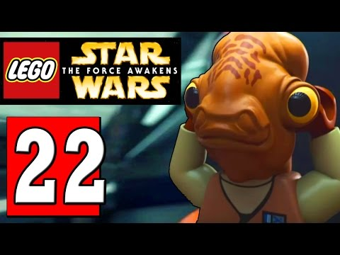 LEGO Star Wars The Force Awakens Part 22 SECRET LEVEL: OTTEGAN ASSULT / OTTEGAN SURFACE