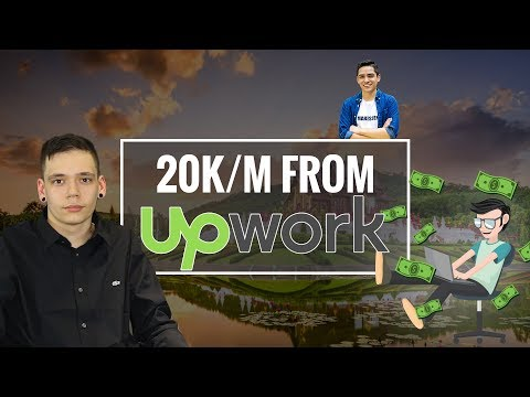 How Jarod Makes $20k/m from UpWork at 20 Years Old