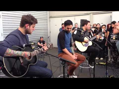 A Day to Remember - Homesick Acoustic
