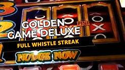 golden game deluxe slot machine streak