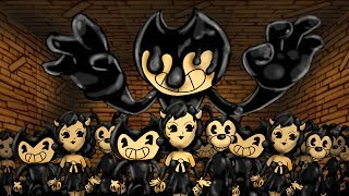 Minecraft | 1 Demon Bendy vs 250 Bendy Clones! (Bendy Massive Mob Battles)