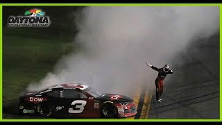 Dillon Celebrates In Style, Hits 'Dab' After Burnout