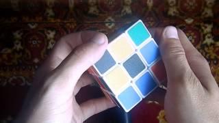 Как собрать кубик Рубика? Видеоурок №1
