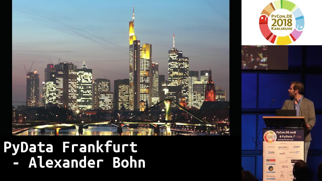 Image from PyData Frankfurt