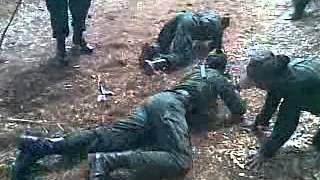 Army woman training punishment