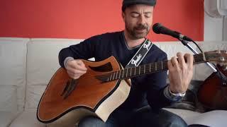 Linda - Pooh cover acoustic guitar. Neunaber shimmer demo pad