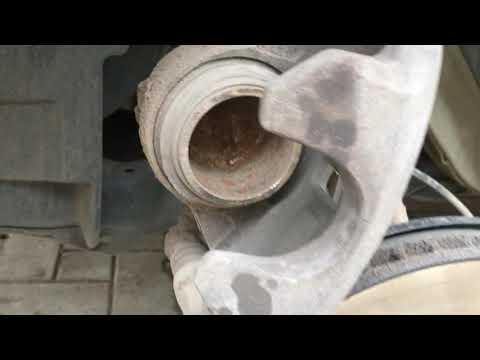Nissan QASHQAI Ниссан Кашкай Замена передних тормозных колодок