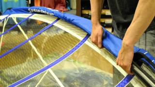 How to rig your windsurf sail