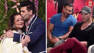 Karan's Picture Perfect Moment With Mom Hiroo Johar   John On His Special Equation With Akshay