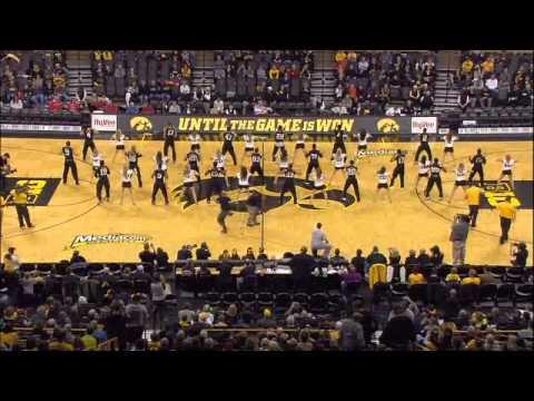 Iowa Dance Team & Iowa Football Join Forces