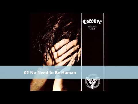 Coroner   No More Colour full album 1989