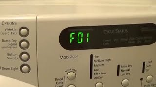Download Whirlpool Duet Maytag Washer Machine Repair Error Codes F01