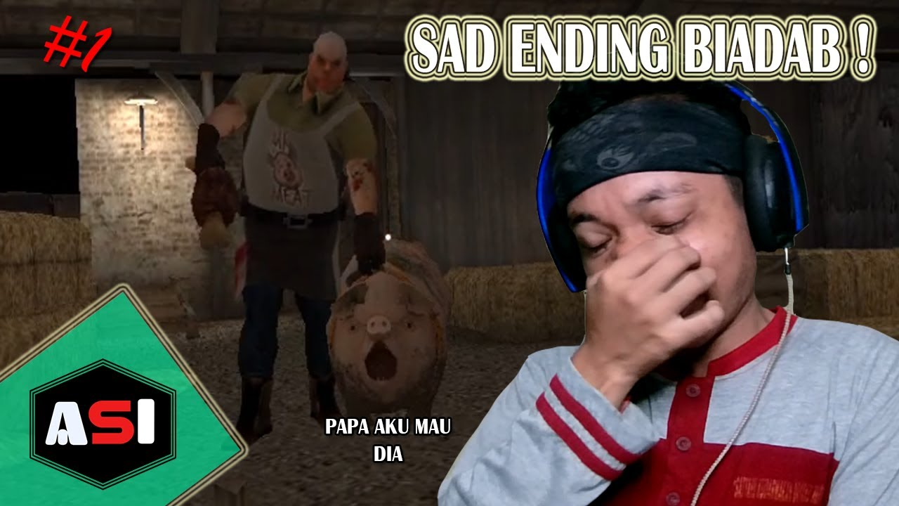 Sad Ending Biadab - Mr Meat Horror Escape Room Indonesia