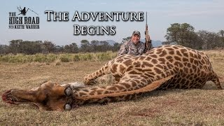 "Wildebeest & Rogue Giraffe Hunt | ""The Adventure Begins"""