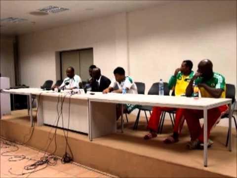 Nigeria Super Eagles vs Ethiopia team officials interview