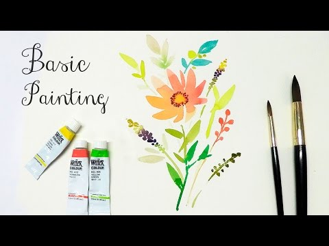Watercolor Basic Painting