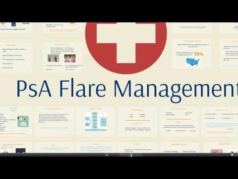 2016 05 25 16 02 PsA Flare Managment Educational Webinar