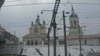 . Москва-Электрозаводская-Казанский вокзал. Поездка на поезде Орск-Москва