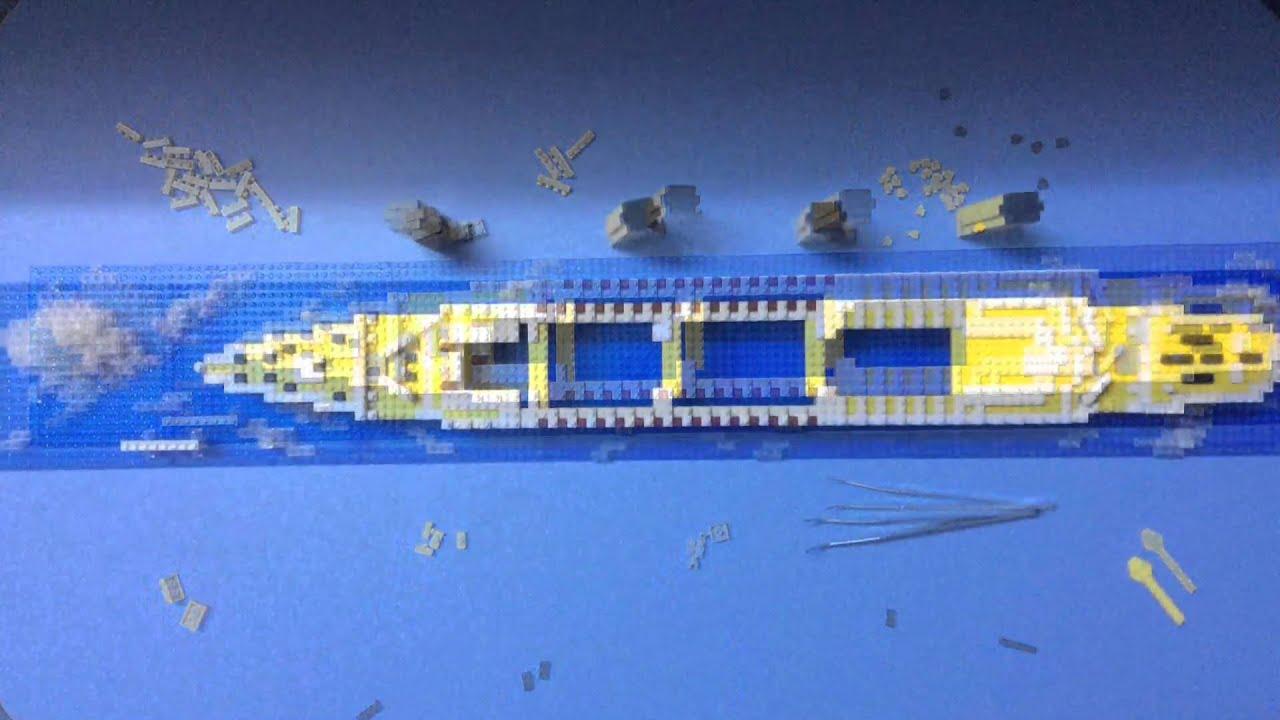 Loz nanoblock architecture brick toy loz titanic for Video architecture